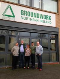 Groundwork Somerville Goes to Groundwork Northern Ireland