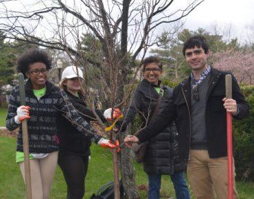 GW Bridgeport Hosts Arbor Day Block Party