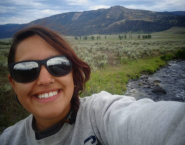 First trip to Yellowstone National Park, 2013