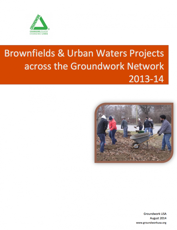 Brownfields + Urban Waters Project Update, 2013-2014_FullCover