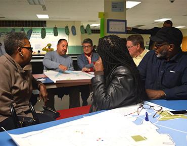 Groundwork Bridgeport waterfront plan visioning meeting, 2016