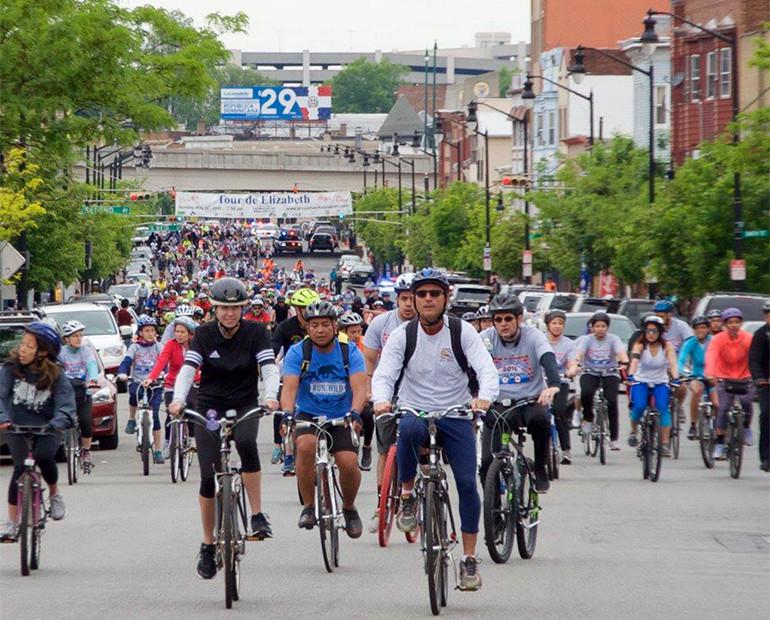 The annual Tour de Elizabeth