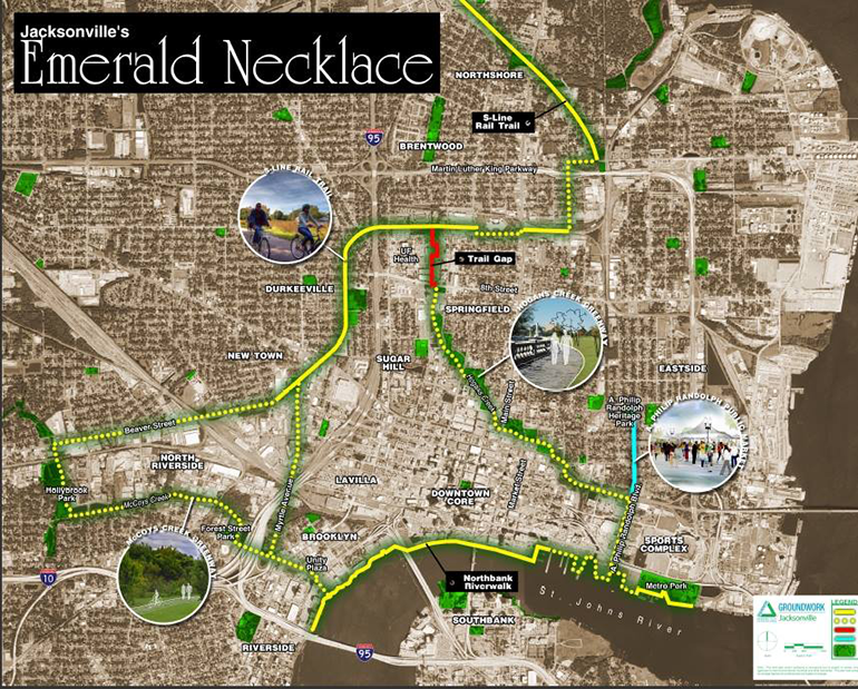 Cleaning up and connecting parks and green spaces into an Emerald Necklace