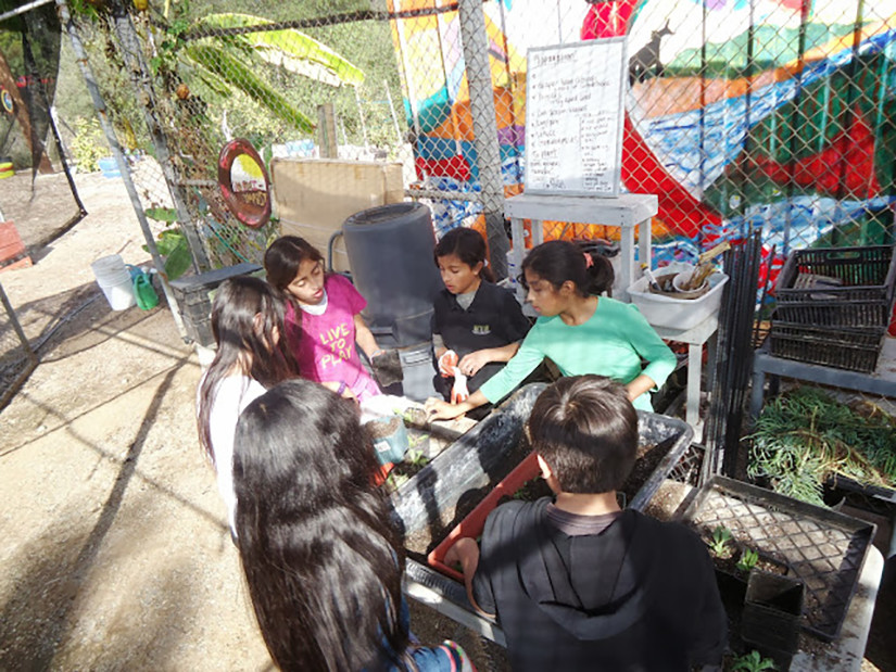 Teaching Science and Technology at the EarthLab UCSD Community Station