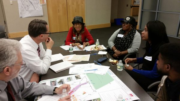 EPA and Groundwork Hudson Valley community planning session in Yonkers' Lowerre neighborhood.