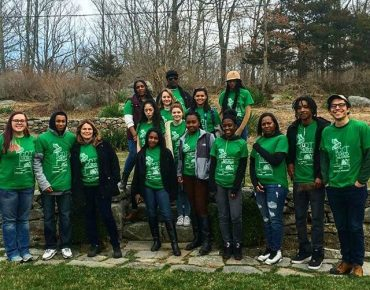 "Bridgeport youth with ""Let's Get Weir'd at Weir Farm National Historic Site,"" a Mountains to Main Street program"