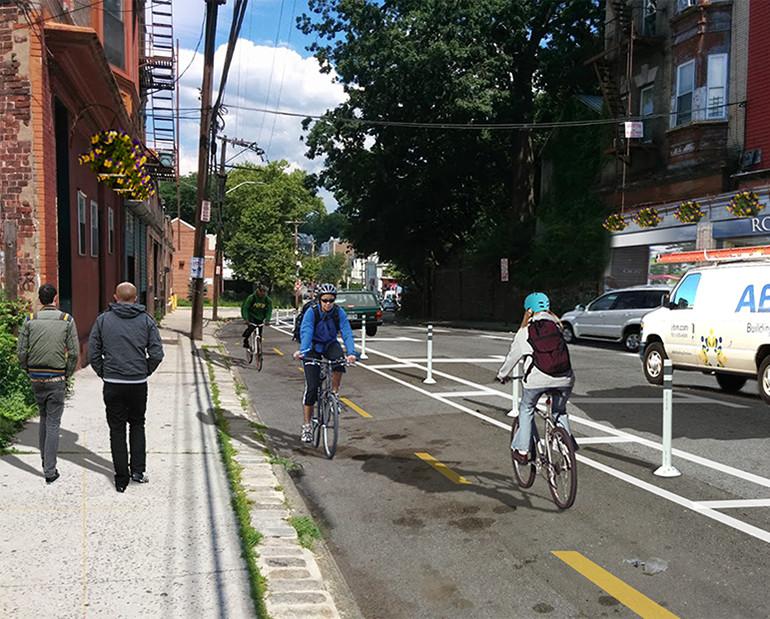 Blazing Trails through Urban Centers