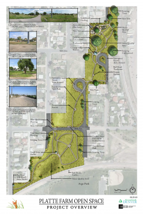 Platte Farms Open Space site plan