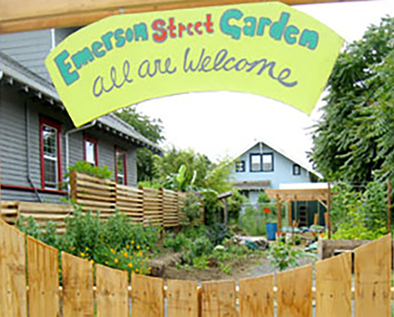 Transforming a brownfield site into the thriving Emerson Street Community Garden