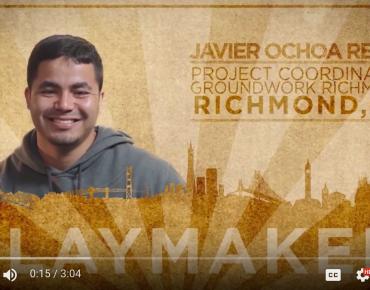 Groundwork Richmond's Javier Ochoa Reyes Named 50 Fund Playmaker