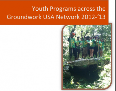 Youth Programs across the Groundwork USA Network 2012-2013