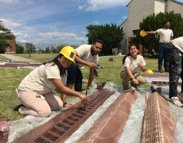 Groundwork Youth Restore Historic Chapel at Gateway National Recreation Area