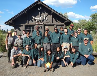 Groundwork USA Youth Crews Return to Yellowstone National Park