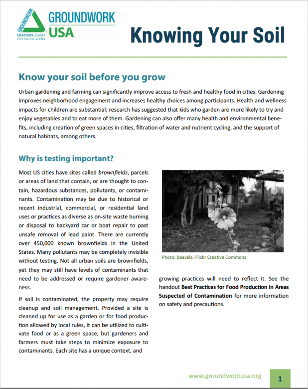 Knowing Your Soil cover