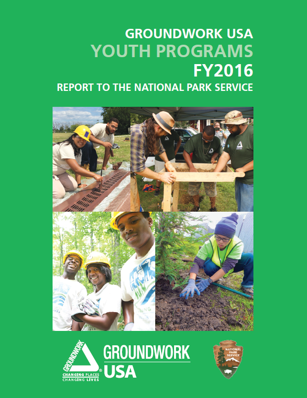 Groundwork USA Youth Programs Report FY2016 cover