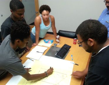 Youth have been involved from the start in the design and planning of Richmond, Virginia's Six Points Innovation Center (6PIC).
