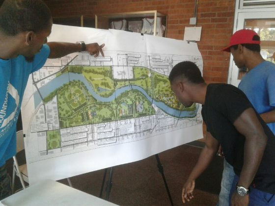 Indianapolis residents examine proposed regional park master plan