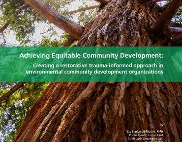 New Groundwork USA White Paper Offers Restorative Trauma-Informed Approach to Building Community Resilience and Prosperity