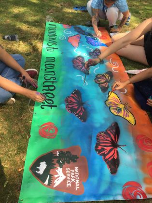 Lawrence, MA youth create Mountains to Main Street mural celebrating local culture and resilience