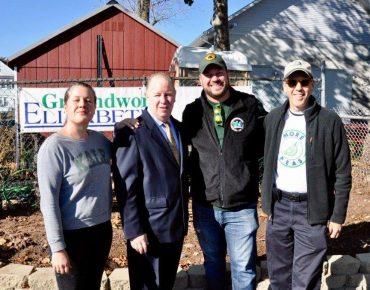 NJDEP Volunteers Help Groundwork Elizabeth Prepare Community Gardens, Provide Healthy Produce for City Residents