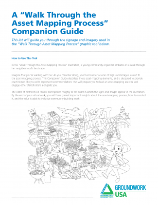 """Walk Through Asset Mapping Process"" Companion Guide cover"