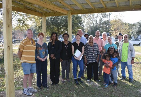 Groundwork Mobile Steering Committee and community members visit Mobile's Taylor Park.