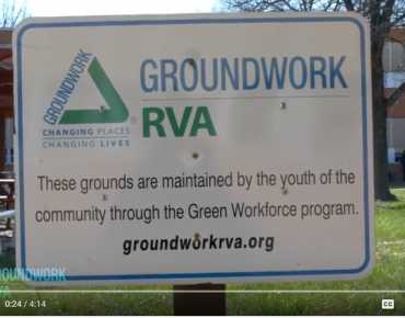 Groundwork RVA: Green Workforce