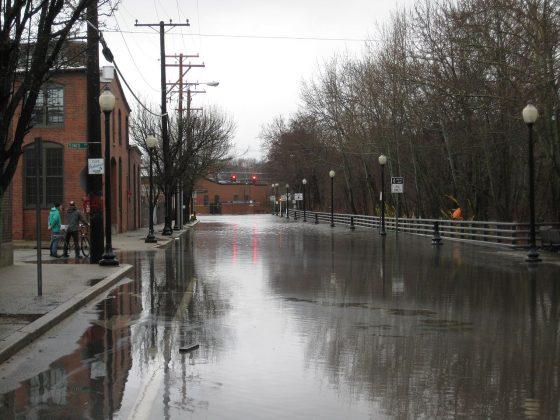 Kinsley Avenue Flood, Providence, RI