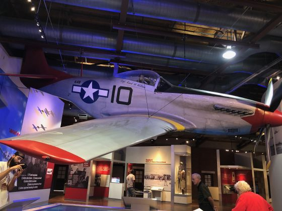 Tuskegee Airmen's P51 Mustang Red Tail