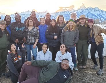 Groundwork Youth Leaders Bring Mountains Back to Main Street