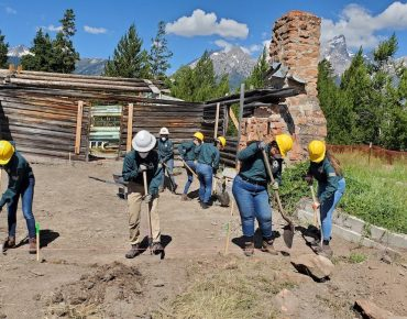 Groundwork Youth Corps Break New Ground in National Parks Stewardship and Historic Preservation!