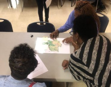 Groundwork RVA engages residents in identifying climate vulnerabilities in their neighborhood.